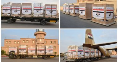 صورة مصر ترسل مساعدات عاجلة للعراق تنفيذا لتوجيهات السيسى
